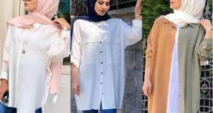 احدث و اشيك موديلات ملابس المحجبات,موضة 2020 للمحجبات