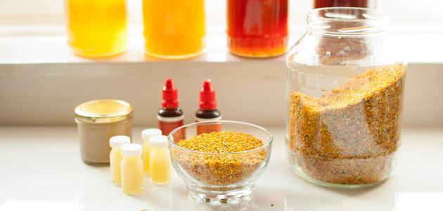 فائدة حبوب اللقاح مع العسل  موضوع