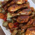 ألذ طبق دجاج بالخضار بمذاق خيالي بطريقة سهلة وسريعة وبتثبيلة سرية لذيذة  للغاية - مطبخ سيدتي
