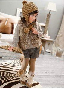 ملابس اطفالك في الشتاء منوع بالخطوات المصوره