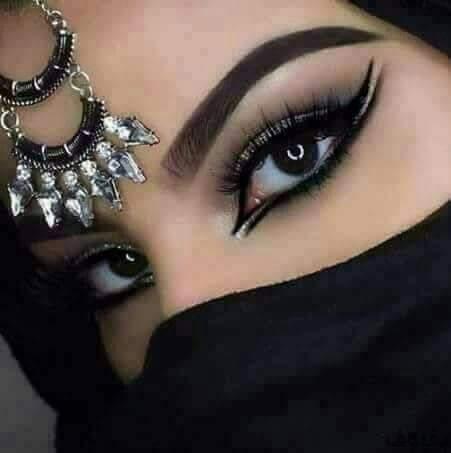 صورة صور عيون جميله بالنقاب 103 8