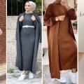 فساتين شتوية للمحجبات 2020 موديلات جديدة في غاية الاناقة ❤ لخريف و شتاء  Hijab dress 2020 - YouTube