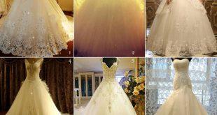 اجمل فساتين عروس فيس بوك