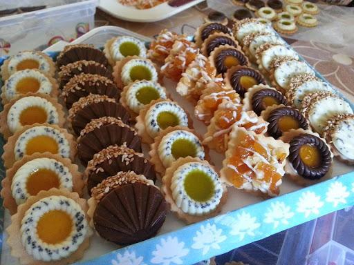 حلويات اعراس جزائرية عصريه , اشهر الحلوى فالمطبخ الجزائري  صور جميلة