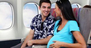 مين سافرت وهي حامل في الشهور الاولى