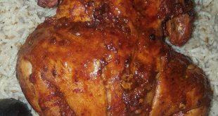 دجاج شوايه مثل المطاعم بالخطوات المصوره