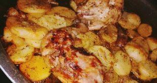صينيه بطاطس بالدجاج يم يم بالصور