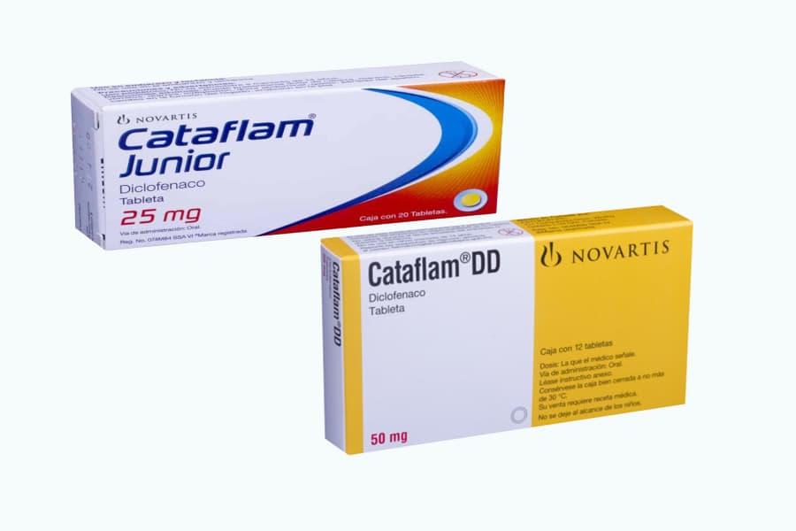 كتافلام Cataflam مسكن للألم و مضاد للالتهاب | الجرعه و دواعي الأستخدام  و الآثار الجانبية